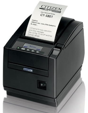 Citizen Top Exit Thermal Printer, USB, Black