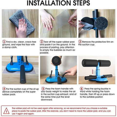 Sit Up Foot Holder Muscle Training Fitness Exercise Equipment