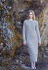 Mt. Tam Sweater Dress in Heather Grey