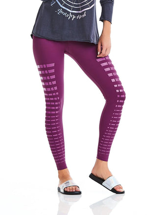 Brazilian Workout Purple Legging