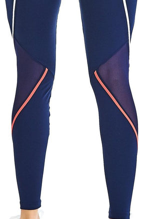 Brazilian Navy Blue Workout Legging