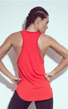 Getting Stronger Red Tank Top - Bad Girl Fitness