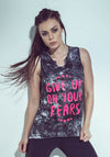 No Fears Brazilian Tank Top - Bad Girl Fitness