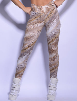 Animal Print Brazilian Workout Legging