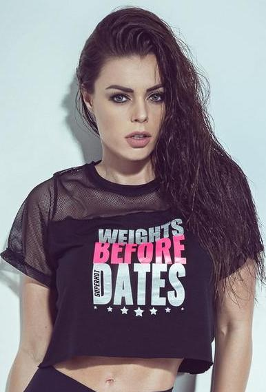 Priorities Black Crop Top - Bad Girl Fitness