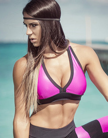 Band Pink Cire Sports Bra