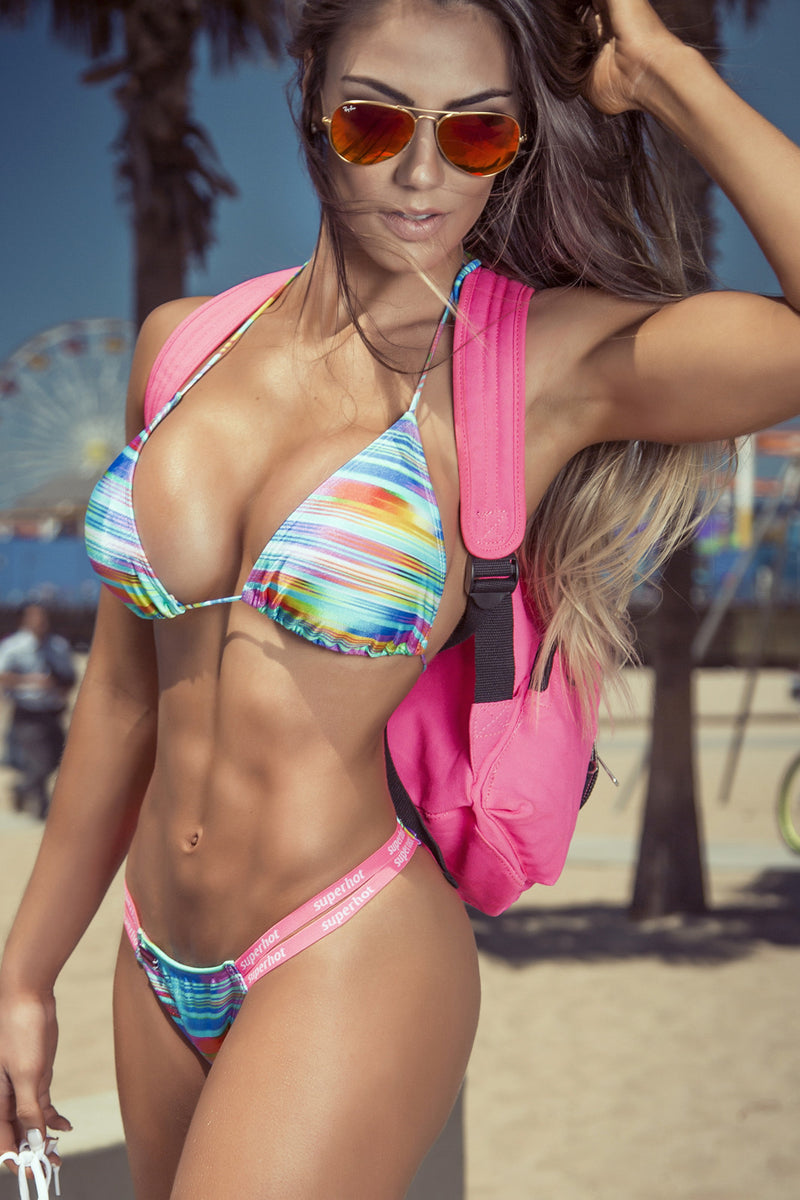 Muscle Beach Brazilian Bikini - Bad Girl Fitness