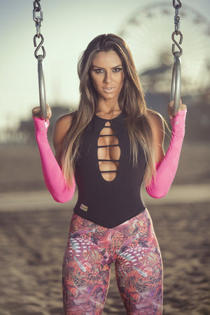 Wild Print Brazilian Jumpsuit - Bad Girl Fitness