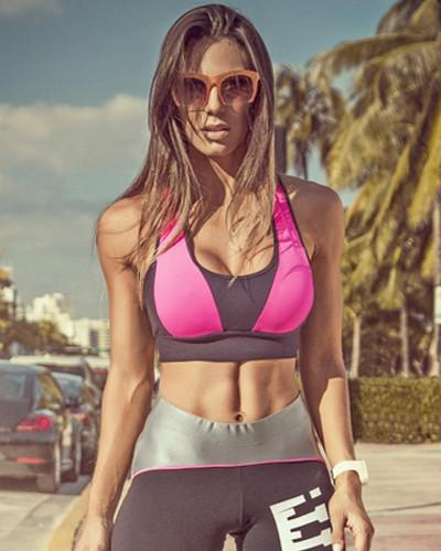 Action Black Sports Bra - Bad Girl Fitness