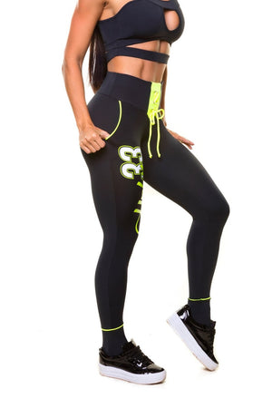 Brazilian Workout Legging - Bad Girl Fitness
