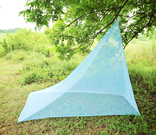 Everyday Give Away: Marycrafts Mosquito Net Tent (single, Blue Single Point Suspension)