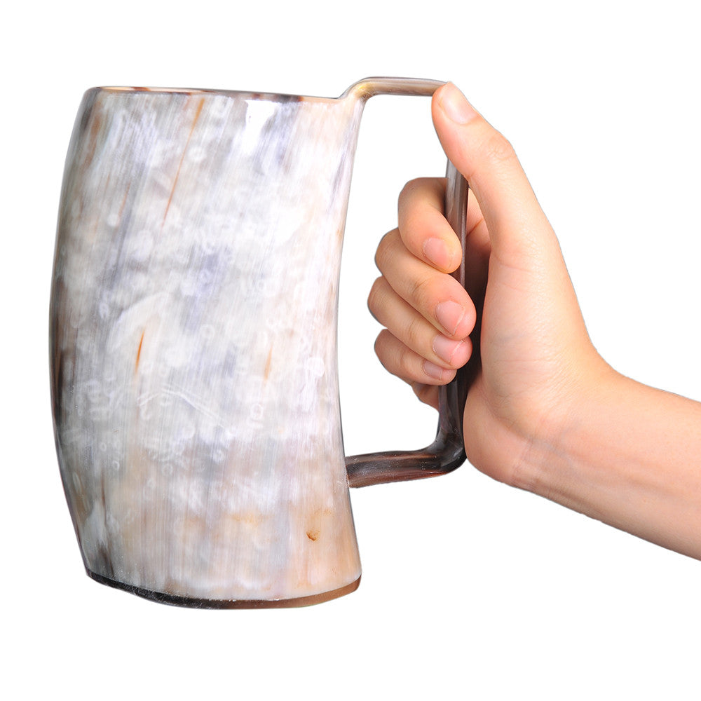 Buffalo Horn Mug Drinking Horns