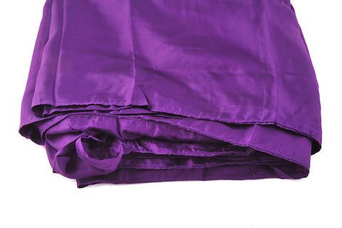 "Single Sleeping Bag Liner, Travel Sheet, Sleepsack  Orchid Purple 100% Pure handicraft Silk  83""x33"""