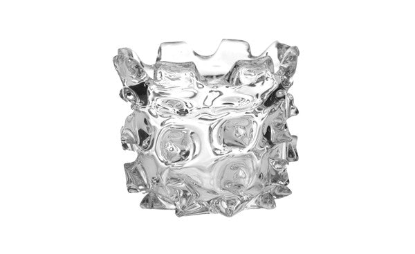 Clear Ice Vase