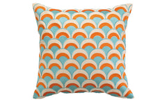 Orange Double Arches Pillow
