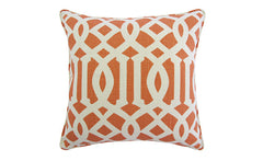 Coral Trellis Pillow