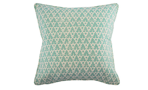 Turquoise Volpi Pillow