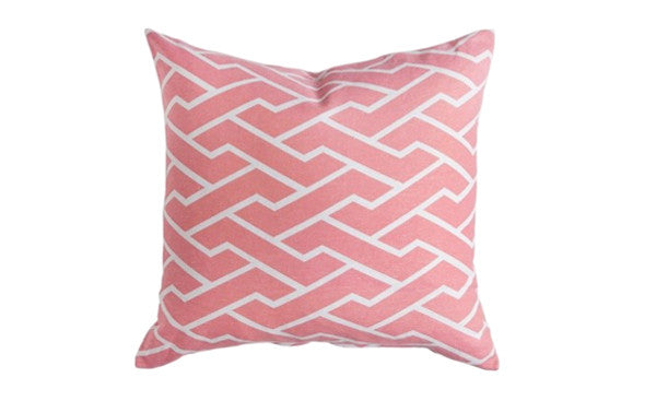 Pink Crossroads Pillow