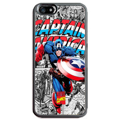Captain America TPU+PC Case for Apple iPhone 6/6s PLUS