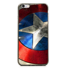 "Captain America Shield TPU Silicone Case for Iphone 6 (4.7"")"
