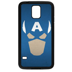 Captain America Face TPU Case For Samsung Galaxy S5