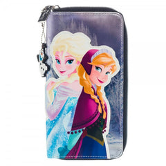 Disney Frozen Large Zip Around Wallet