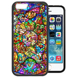 Disney All Characters Stained Glass TPU+PC Case for Iphone 7 PLUS