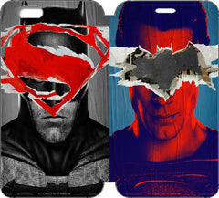 "Batman v Superman: Dawn of Justice Wallet Case w/ STAND Flip Cover for iPhone 6/6s (4.7"")"