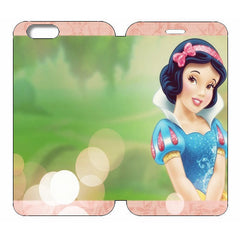"Disney Princesses (Snow White) Wallet Case w/ Stand Flip Cover for iPhone 6 (4.7"")"