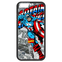Anymode Marvel Comics Captain America Hard Case for Apple iPhone 5 / 5s / SE