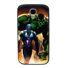 Captain America & The Hulk TPU Soft Shell Jelly Silicon Case for Samsung Galaxy S4
