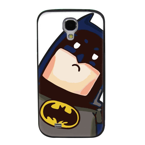 Tilted Animated Batman TPU Soft Shell Jelly Silicon Case for Samsung Galaxy S4