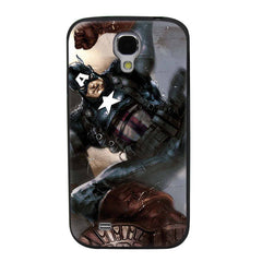 Captain America Soldier TPU Soft Shell Jelly Silicon Case for Samsung Galaxy S4