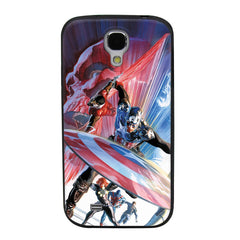 Captain America The First Avenger TPU Soft Shell Jelly Silicon Case for Samsung Galaxy S4