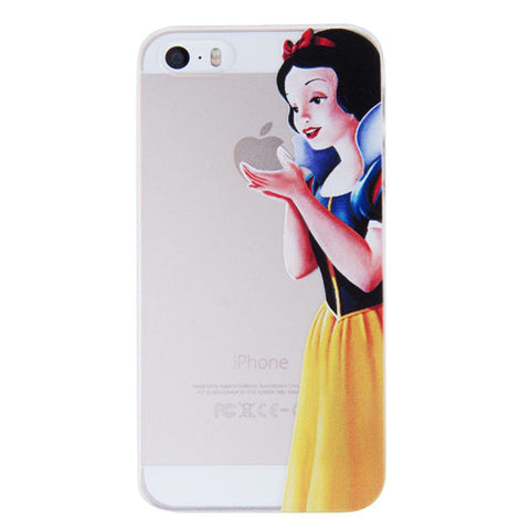 sports shoes 8a986 bd260 Snow White Holding Logo Clear Transparent Case For Apple Iphone 6/6s PLUS  (5.5-inch)