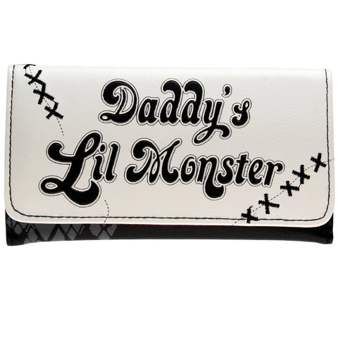"Suicide Squad ""Daddy's Lil Monster"" Wallet"