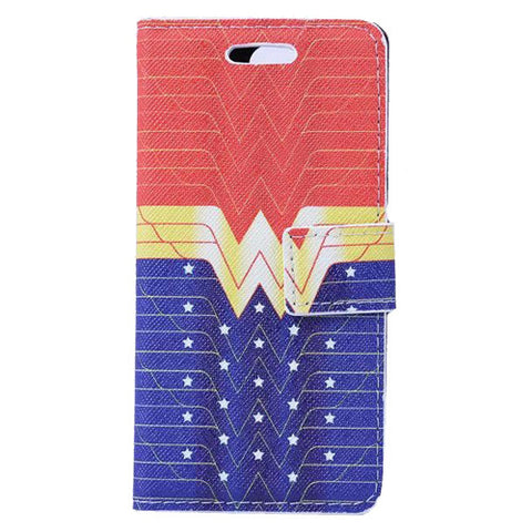 new arrival aae79 c1410 Wonder Woman Wallet S Case Premium Wallet Case with STAND Flip Cover for  Samsung Galaxy S5