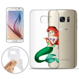Disney's Little Mermaid Ariel Jelly Clear Case for Samsung Galaxy S7 Edge