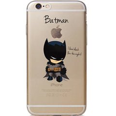 Batman Jelly Clear Case for Apple iPhone 7