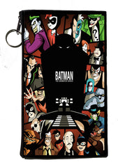 Batman: The Animated Series Zipper Pouch 8inch x 4inch