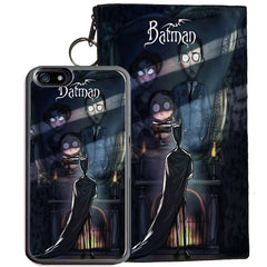 Batman for iPhone 7 TPU+PC Case (Tim Burton Style Art)