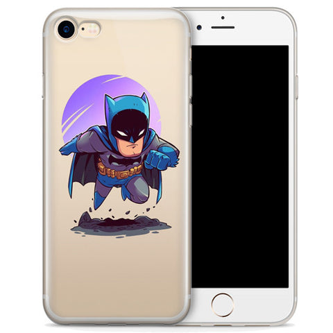 Batman (animated) Jelly Clear Case for Apple iPhone 7
