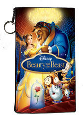 "Disney's Beauty and the Beast Zipper Pouch 8"" x 4"""