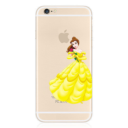 Princess Belle Beauty And Beast iphone case