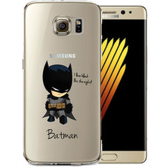 Batman Jelly Clear Case for Samsung NOTE 7