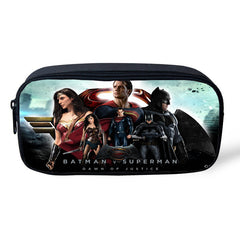 Batman v Superman Pencil / Cosmetic Zipper Pouch
