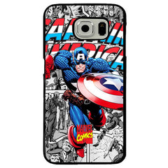 Captain America TPU+PC Case For Samsung Galaxy S7