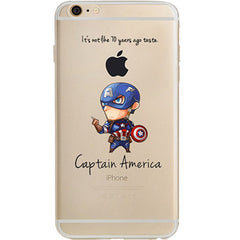 "Captain America Jelly Clear Case for Apple iPhone 6/6s (4.7"")"
