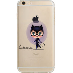 Catwoman Jelly Clear Case for Apple iPhone 5/5s, SE