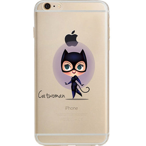 Catwoman Jelly Clear Case for Apple iPhone 7